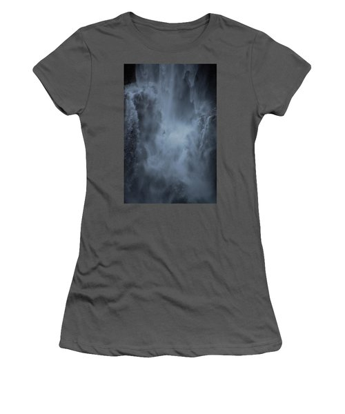 Power Of Water Women's T-Shirt (Junior Cut) by Jonah  Anderson