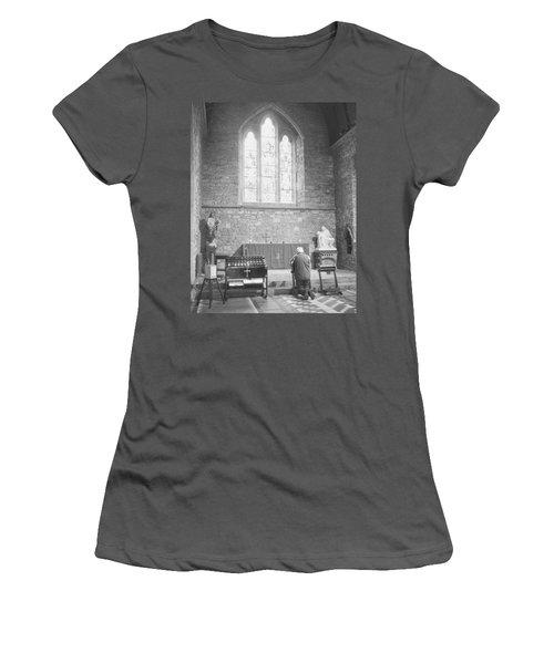 Women's T-Shirt (Junior Cut) featuring the photograph Prayer by Hugh Smith