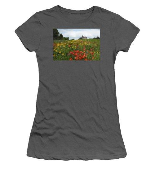 Presidio La Bahia 1 Women's T-Shirt (Athletic Fit)