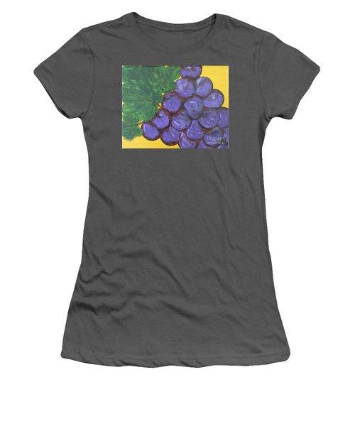 Purplest Purple Women's T-Shirt (Athletic Fit)
