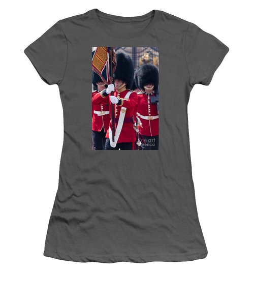 Queens Guards Women's T-Shirt (Athletic Fit)