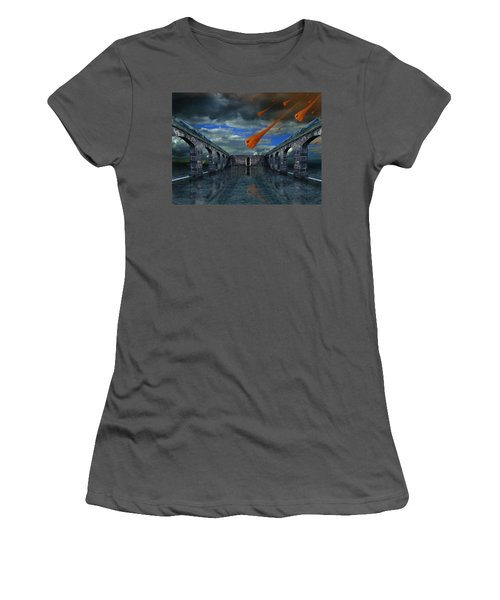 Rain  Women's T-Shirt (Athletic Fit)