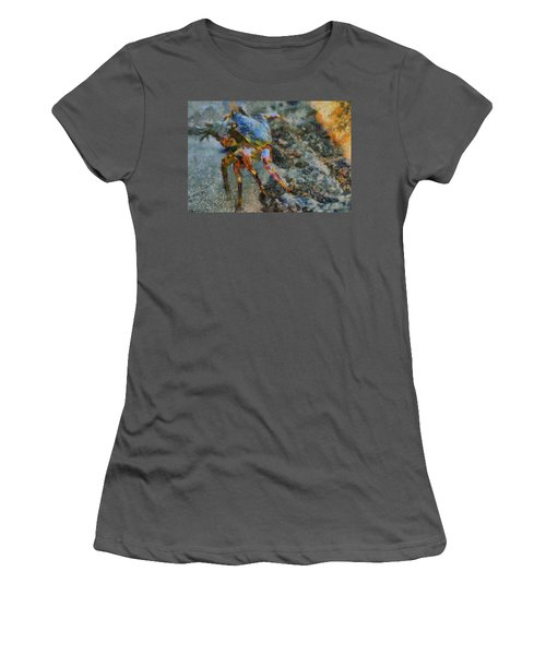 Rainbow Crab Women's T-Shirt (Athletic Fit)