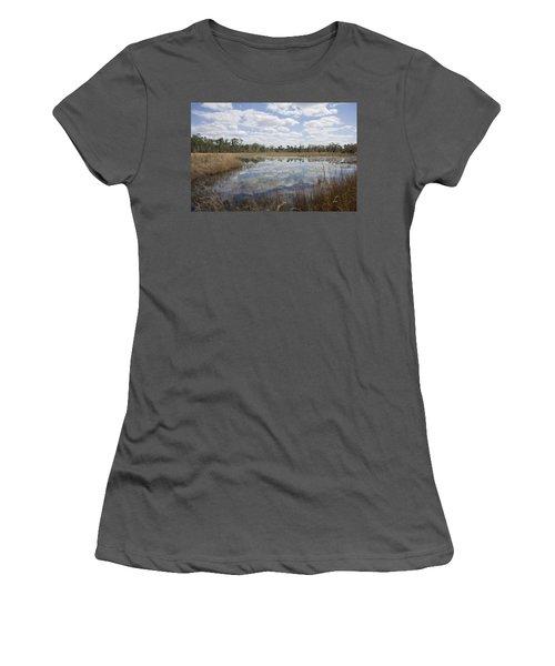 Reflections Women's T-Shirt (Junior Cut) by Lynn Palmer