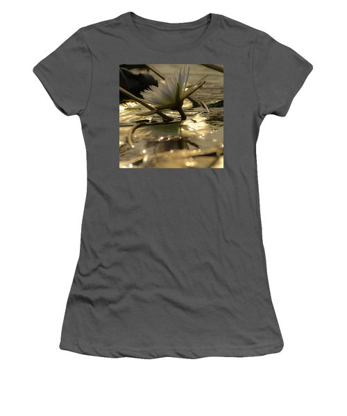 River Lily Women's T-Shirt (Athletic Fit)