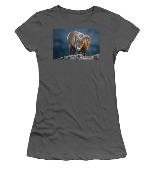 Rocky Mountain Big Horn Ram Women's T-Shirt (Athletic Fit)