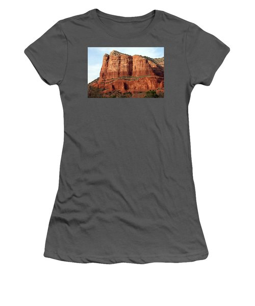 Sedona Red Women's T-Shirt (Athletic Fit)