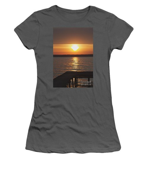 Women's T-Shirt (Junior Cut) featuring the photograph Seneca Lake by William Norton