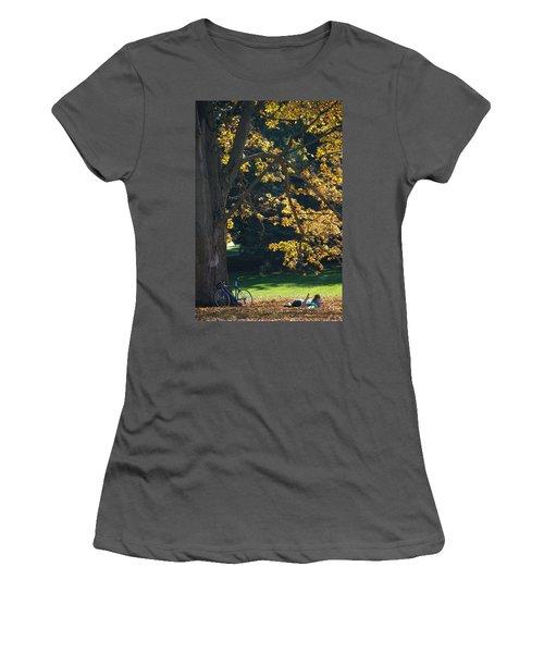 Women's T-Shirt (Junior Cut) featuring the photograph September Dreams by Joseph Yarbrough