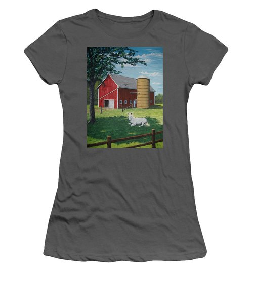 Shady Rest Women's T-Shirt (Junior Cut) by Norm Starks