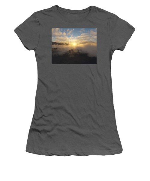 Sierra Sunrise Women's T-Shirt (Junior Cut) by Mark Greenberg