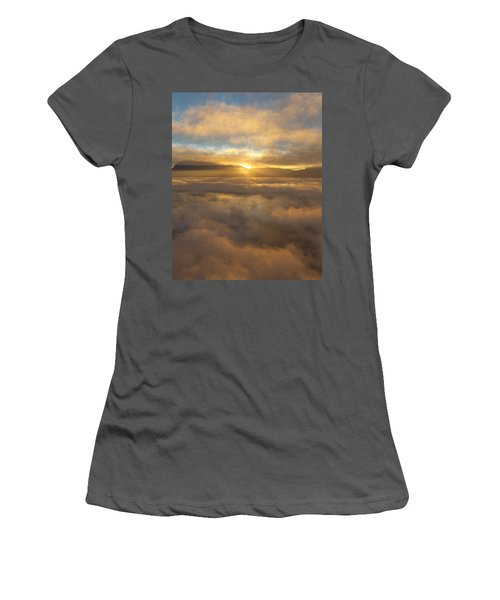 Silver Lake Sunrise Women's T-Shirt (Athletic Fit)