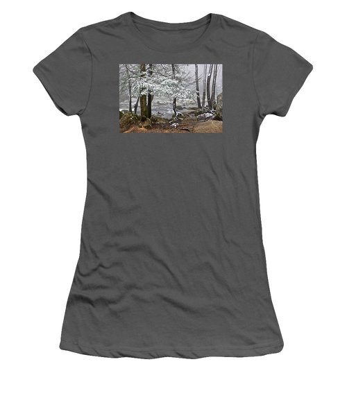 Smoky Mountain Stream Women's T-Shirt (Athletic Fit)