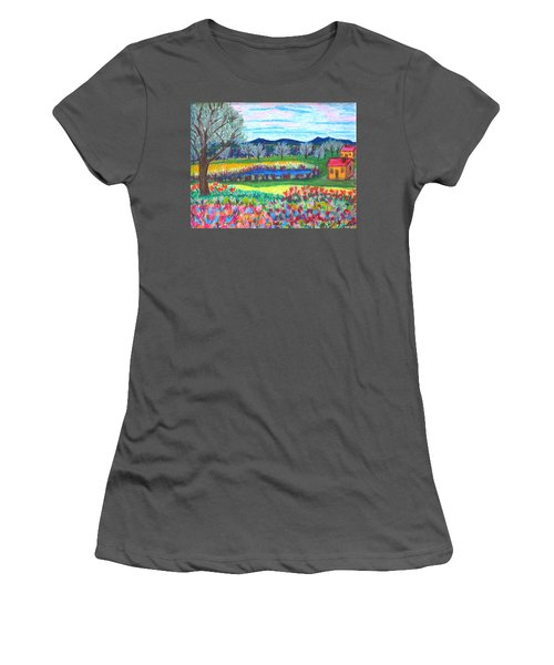 Somewhere Else Women's T-Shirt (Athletic Fit)