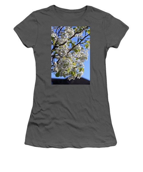 Women's T-Shirt (Junior Cut) featuring the photograph Spring Blooms by Kay Novy