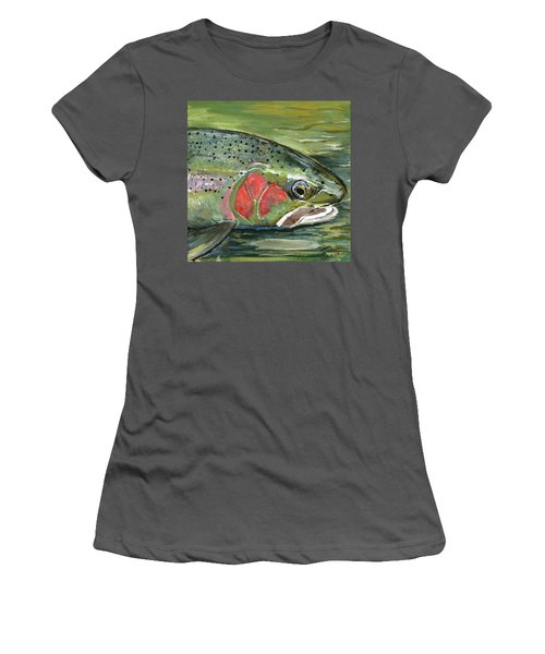 Steelhead  Women's T-Shirt (Athletic Fit)