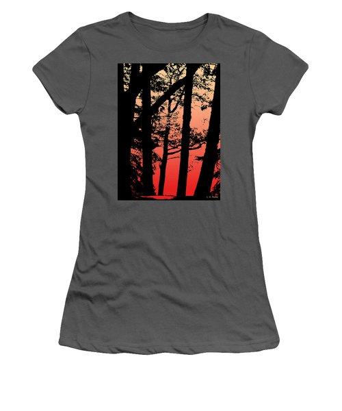 Summer Sunset Women's T-Shirt (Athletic Fit)