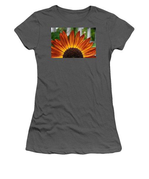 Sunrise Floral Women's T-Shirt (Athletic Fit)