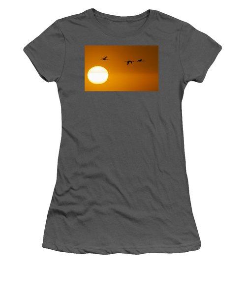 Sunset 3 Women's T-Shirt (Athletic Fit)
