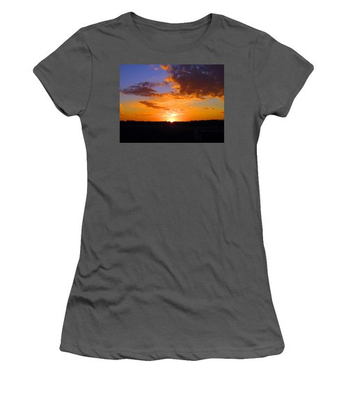 Sunset In Wayne County Women's T-Shirt (Athletic Fit)