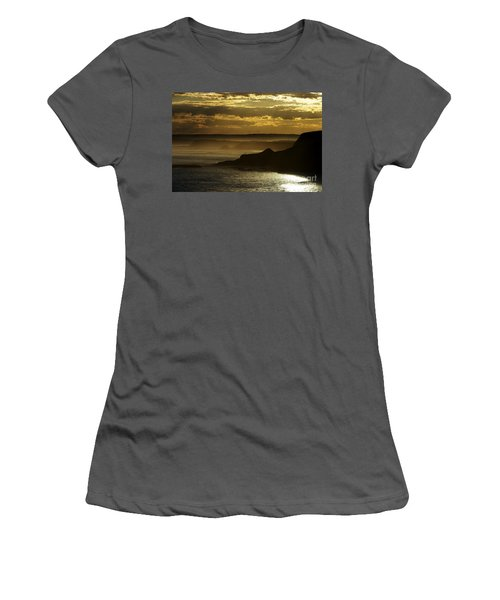 Sunset Mist Women's T-Shirt (Athletic Fit)