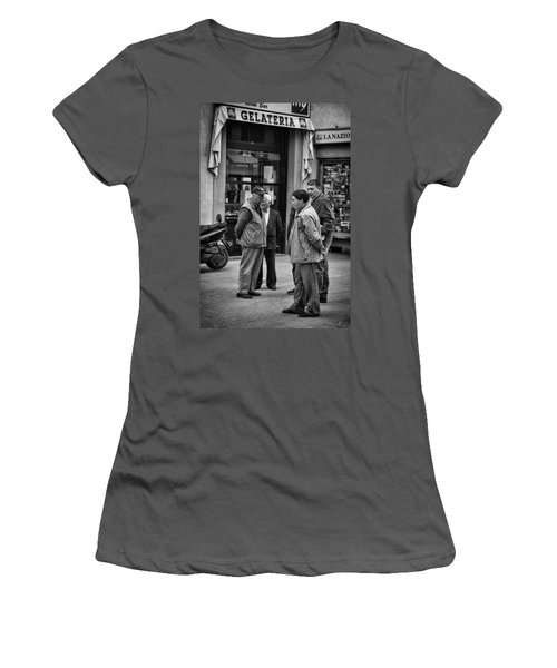 Women's T-Shirt (Junior Cut) featuring the photograph The Conference by Hugh Smith