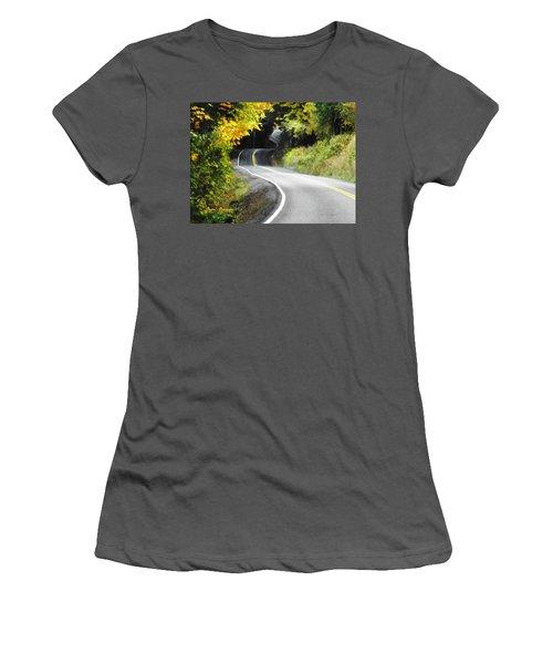 The Low Road Women's T-Shirt (Junior Cut) by Sadie Reneau