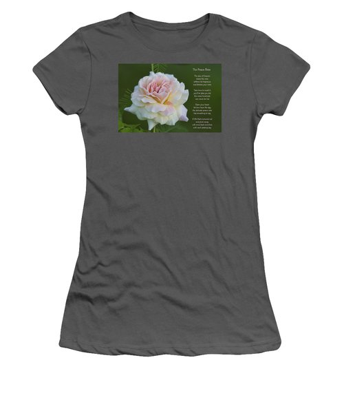 The Peace Rose Women's T-Shirt (Athletic Fit)