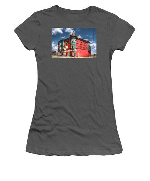 The Sauter Building Women's T-Shirt (Junior Cut) by Dan Stone