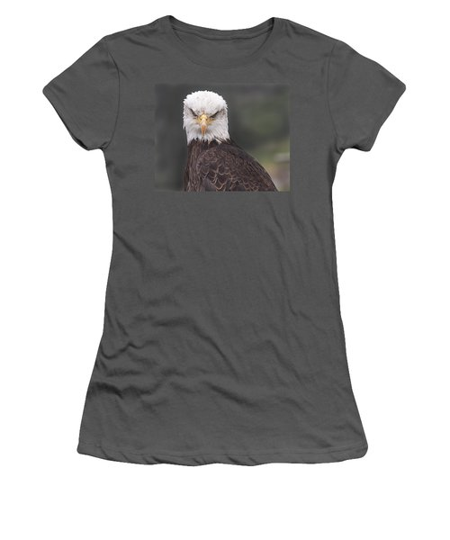 Women's T-Shirt (Junior Cut) featuring the photograph The Stare by Eunice Gibb