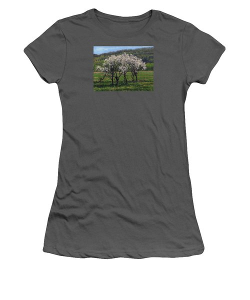 Valley Plum Thicket Women's T-Shirt (Junior Cut) by Bruce Morrison