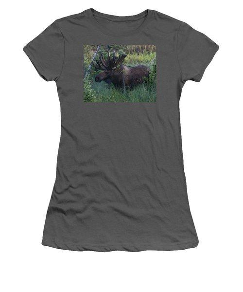 Women's T-Shirt (Junior Cut) featuring the photograph Velvet by Doug Lloyd