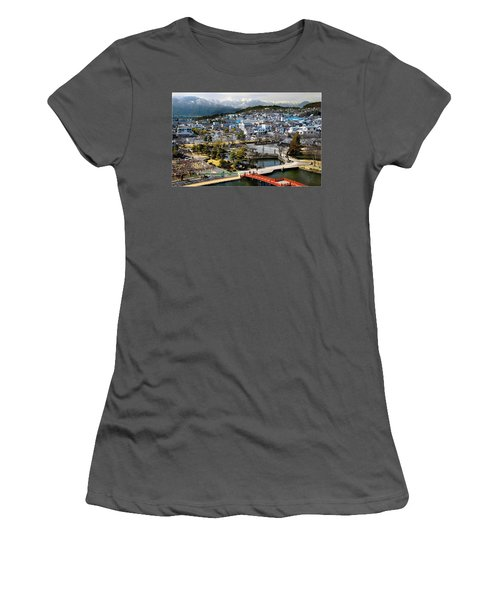 View Fromthe Top Women's T-Shirt (Athletic Fit)