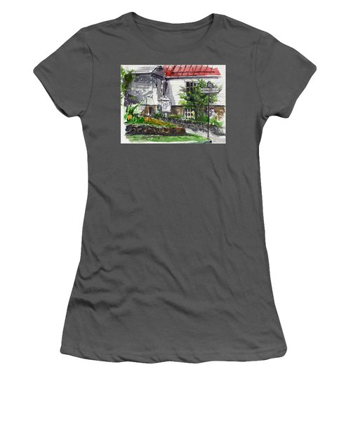 Wetheredsville Street Women's T-Shirt (Athletic Fit)