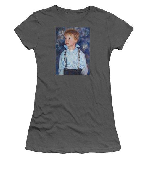 Blue Boy Women's T-Shirt (Athletic Fit)