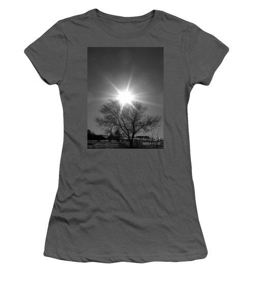 Winter Light Women's T-Shirt (Junior Cut) by Dorrene BrownButterfield