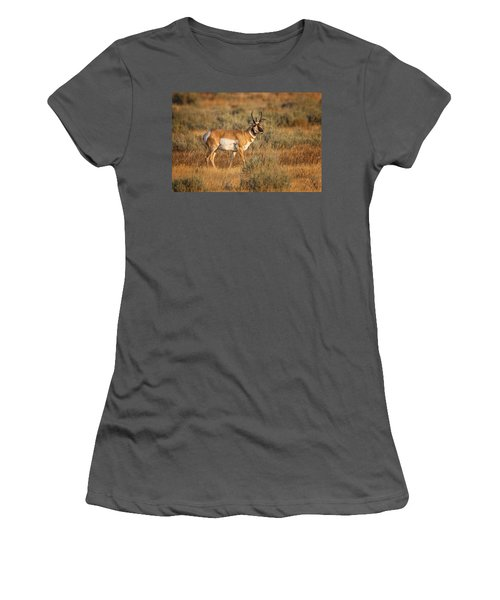 Wyoming Pronghorn Women's T-Shirt (Athletic Fit)