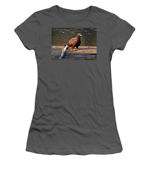 Women's T-Shirt (Junior Cut) featuring the photograph Young And Proud by Cheryl Baxter