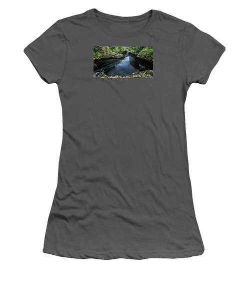 Glentrool Inky Pool New Galloway Women's T-Shirt (Athletic Fit)
