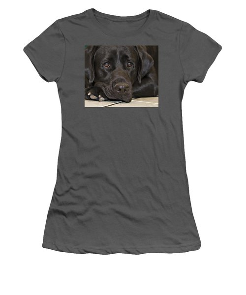 Labrador Retriever A1b Women's T-Shirt (Athletic Fit)