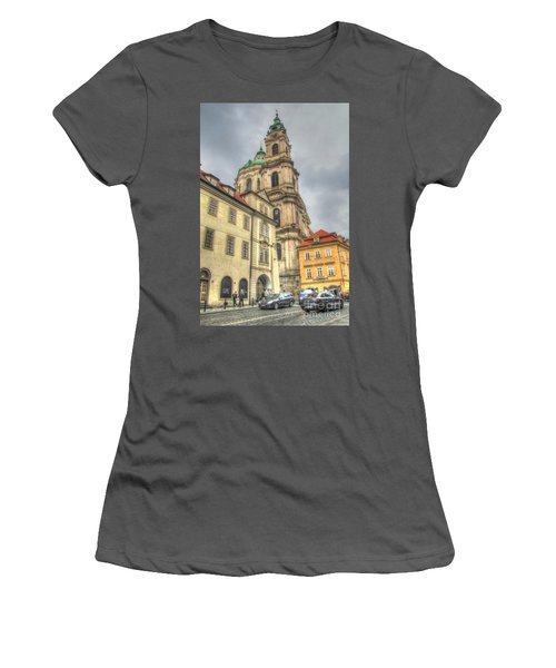 Praha Chehia Women's T-Shirt (Junior Cut) by Yury Bashkin