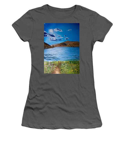 The Path Women's T-Shirt (Athletic Fit)