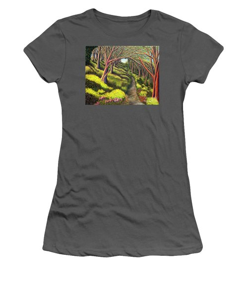 01350  Spring  Women's T-Shirt (Junior Cut) by AnneKarin Glass