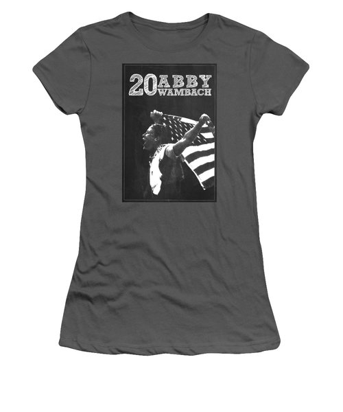 Abby Wambach Women's T-Shirt (Athletic Fit)