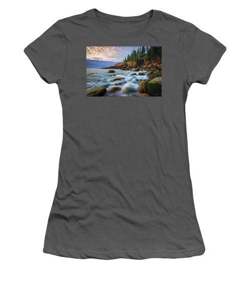Acadia Women's T-Shirt (Athletic Fit)