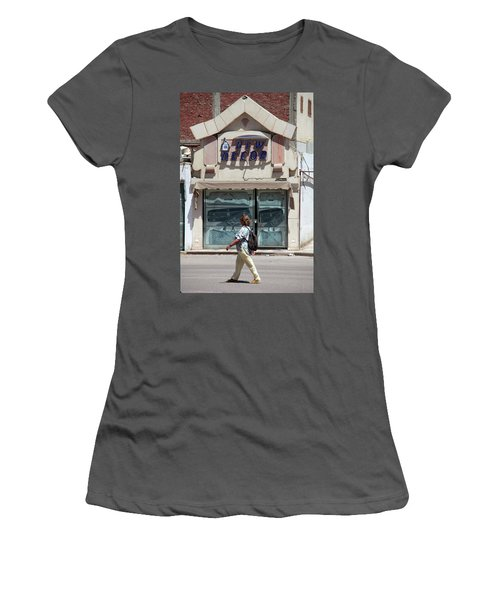 And There Women's T-Shirt (Junior Cut) by Jez C Self