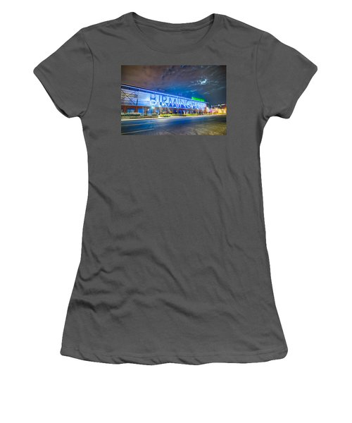 April 2015 - Birmingham Alabama Regions Field Minor League Baseb Women's T-Shirt (Athletic Fit)