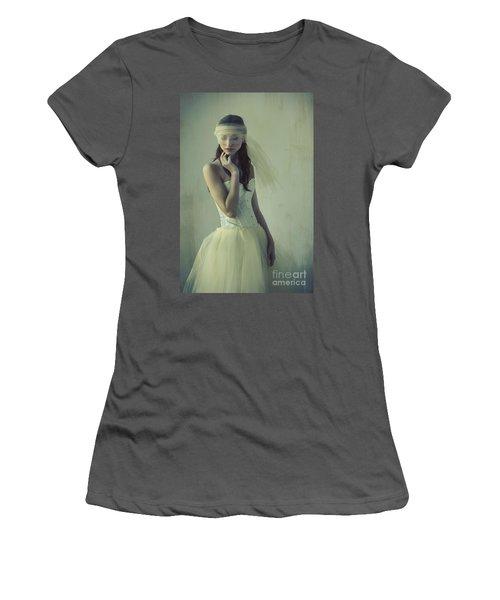 Ballerina Women's T-Shirt (Junior Cut) by Diane Diederich