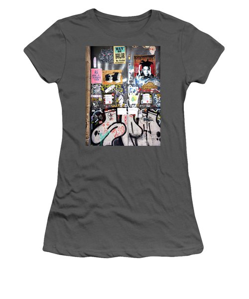 Barcelona Street Art Women's T-Shirt (Athletic Fit)