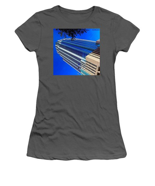 #blue Blue Tuesday.  #bluesky And Blue Women's T-Shirt (Athletic Fit)